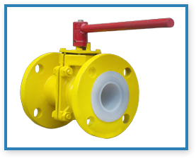 FEP Lined Valves Manufacturers, FEP Lined Valves Suppliers